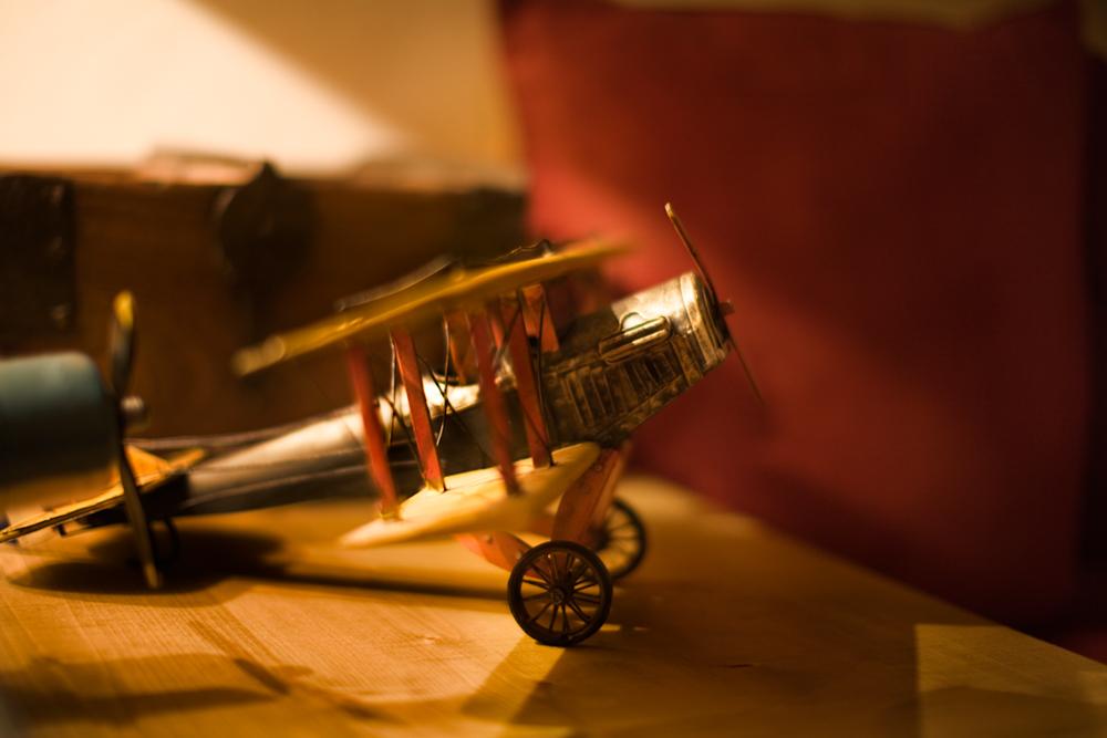 Avion ancien ©AgenceWitty