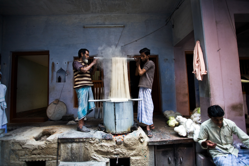 Le monde de la soie