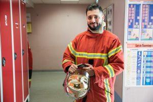 CHUGA Agent pompier ©AgenceWitty