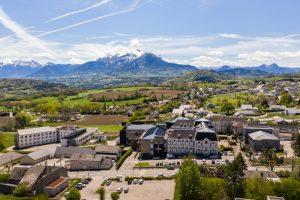 Prise de vue Drone CHU La Mure ©AgenceWitty